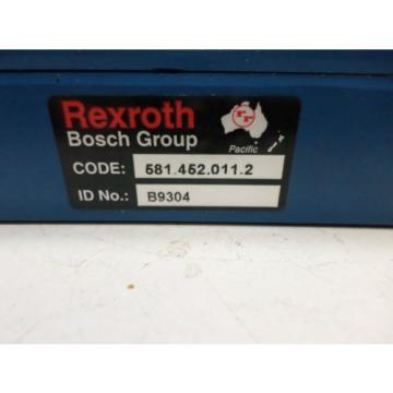 BOSCH REXROTH - SOLENOID VALVE - 5814520112