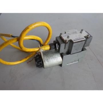 REXROTH SOLENOID VALVE 4WE6D6-60/DG24 N9DK24L S043A-1170 ES-1063B-69 1362M James