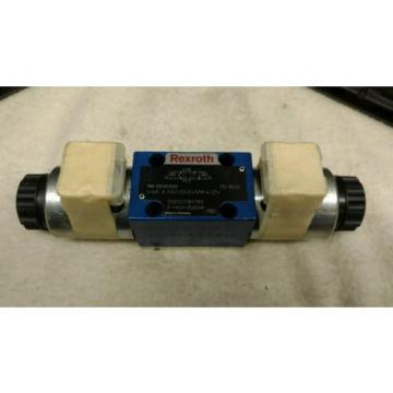 Origin Rexroth 4 WE 6 E62/EG24N9J4/ZV Directional Valve 24VDC 125A Solenoid
