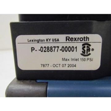 Rexroth Ceram GS-020012-00707 110VAC Pneumatic Solenoid Valve