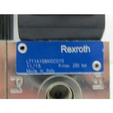 Rexroth L711 Series, Double Bank 8/2, 24 vdc, Directional Flow Diverter Valves