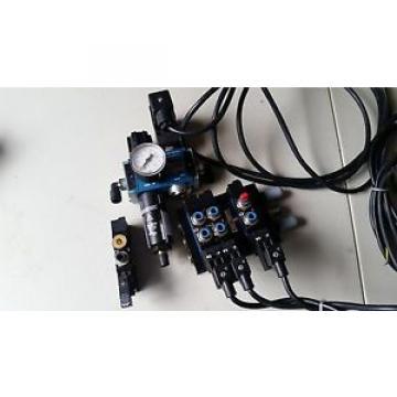 Rexroth 4-Valve Air Control Manifold Assembly w/ Regulator