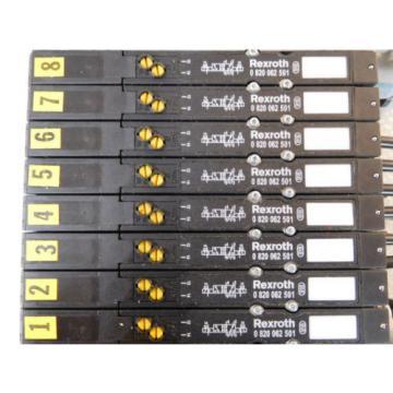 Rexroth R480 700 771, Bosch 0820062501 Valve terminal mit 8 top Condition free