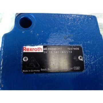 REXROTH R900481097 CHECK VALVE BB