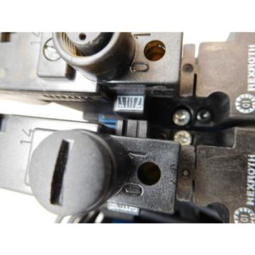 Rexroth Mecman 335 540 064 0 Valve terminal mit 5 x rexroth 576 360 0 rexroth CD