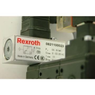 Rexroth 0821300922, Pneumatic Exhaust Valve Assembly