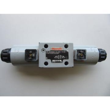 Rexroth R900595823 Hydraulic Control Valve 982115-4WE10J33/CG24N9K4 24VDC VGC