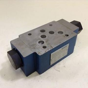 Mannesmann Rexroth Valve Z2S10-1-32/SO14 Used #80677