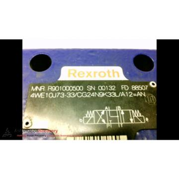 REXROTH 4WE10J73-33/CG24N9K33L/A12=AN HYDRAULIC CONTROL VALVE #184534