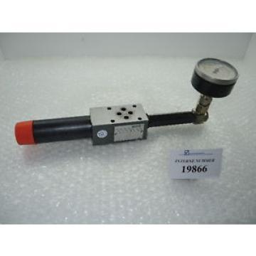 Regulating valve SN 57891, Rexroth  ZDR6DA2-42 + pressure gauge assembly