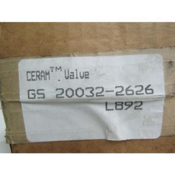 REXROTH GS20032-2626 CERAM PNEUMATIC SOLENOID VALVE 150PSI NIB