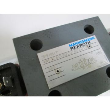 REXROTH DIRECTIONAL CONTROL VALVE 4WE10E67-32/CG24N9Z4/T08 Origin NO BOX