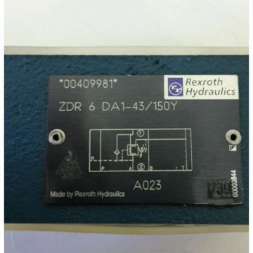 Rexroth Hydraulik Druckregelventil ZDR6DA1-43/150Y pressure valve 608072
