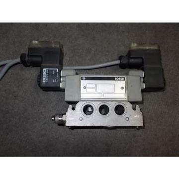BOSCH REXROTH PNEUMATIC SOLENOID VALVE 0 820 024 602 48 or 24 volt