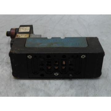 Rexroth Ceram Valve, GS20061-0440, W/ 24VDC Solenoid, Used, WARRANTY