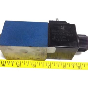 REXROTH HYDRAULIC DIRECTIONAL SOLENOID VALVE 4WE 6 JA62/EW110N9K4 102645