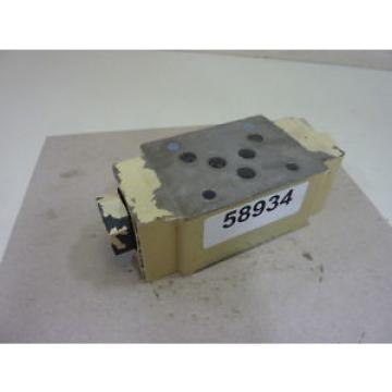Mannesmann Rexroth Hydraulic Valve Z2S10-1-32 Used #58934
