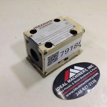 Rexroth Valve 4WE6D52/AG24NZ5L Used #79188
