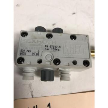 REXROTH 572-749 67697-5 150psi Valve Warranty Fast Shipping
