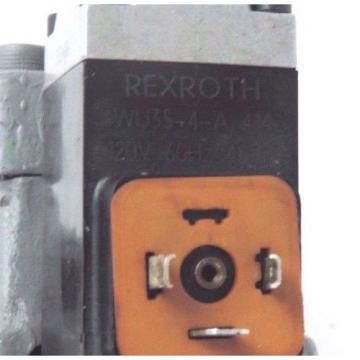 REXROTH 4 WEH 16 E30/6AW120-60NETZ5L CONTROL VALVE 4WEH16E306AW12060NETZ5L