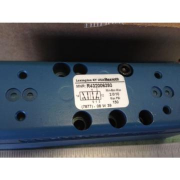 Origin REXROTH R432006393,GT10050-3340 PNEUMATIC VALVE, MAX PSI 150,BOXYM