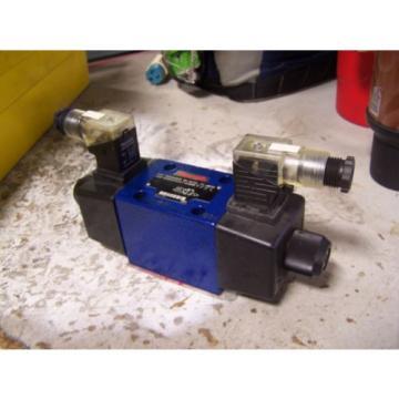 Origin REXROTH R900594948 TWO-WAY DIRECTIONAL SPOOL VALVE 12/240 VAC/DC 4 AMP