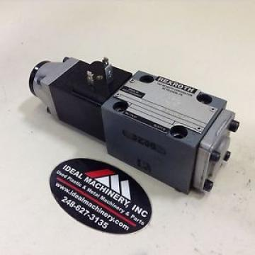 Rexroth Solenoid Valve 4WE6D51/AG24N9K4 Used #84274