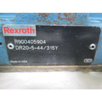 REXROTH DR20-5-44/315Y PRESSURE REDUCING VALVE USED