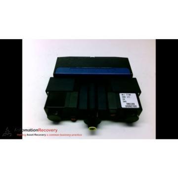 REXROTH GT10042-0909 DOUBLE SOLENOID VALVE, 24VDC, VA27W, SEE DESC #194100