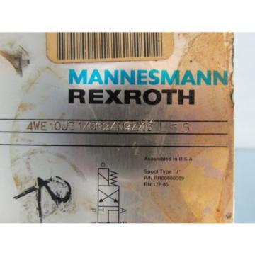 MANNESMANN REXROTH 4WE10J31/CG24N9Z4SL55 HYDRAULIC VALVE