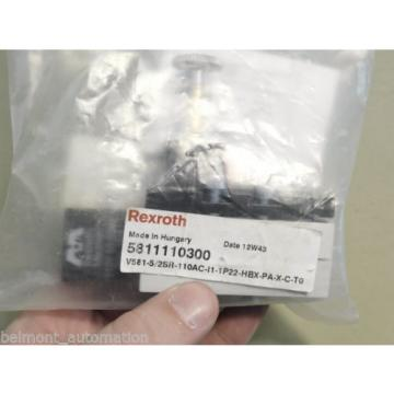 BRAND Origin - Rexroth 5811110300 Valve V581-5/2SR-110AC-|1-1P22-HBX-PA-X-C-T0