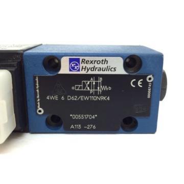 Solenoid Valve 4WE6D62/EW110N9K4 Rexroth 4WE-6-D62/EW110N9K4