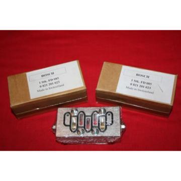 Origin Lot of 3 Bosch Rexroth Valves 0821201023 / 0 821 201 023 -- all 3 sealed