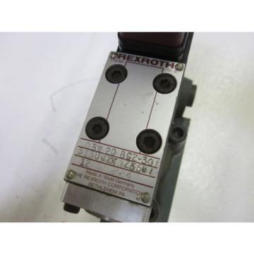 REXROTH DBW 20 BG2-301 315UGXXNZ55L1 VALVE  USED