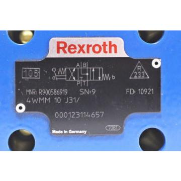 Rexroth R900586919  Hydraulic Directional Control Valve