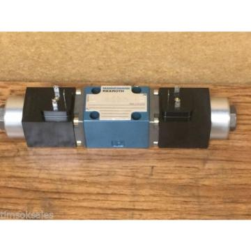 MANNESMANN REXROTH 4WE 6 J53/CG24K4 SO582 SOLENOID CONTROLLED VALVE