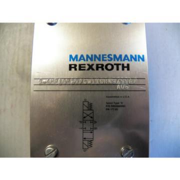 Origin MANNESMANN REXROTH HYDRAULIC VALVE 5-4WE10E32/GW110RN9Z55L/A08 96VDC