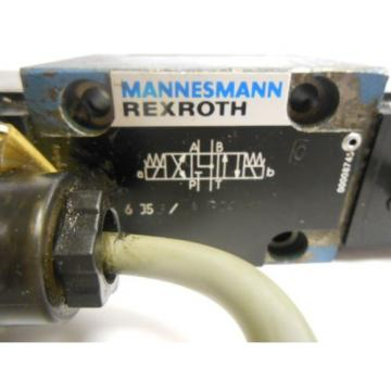 MANNESMANN REXROTH, HYDRAULIC VALVE, 4WE 6 J53/ A G24NK4