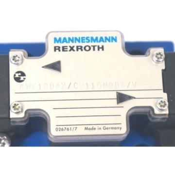 Origin MANNESMANN REXROTH 4WE10D4X/CW110N9DA/V VALVE R978908934