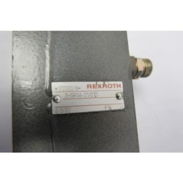 REXROTH 3HSR06-21/01D VALVE