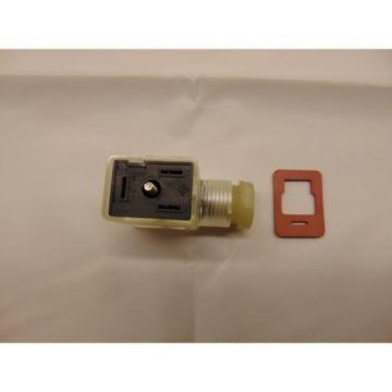 BOSCH REXROTH 1834484107 FORM B VALVE CONNECTOR WITH LED 24 VOLT