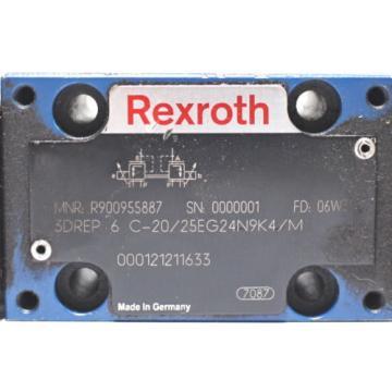 Rexroth R900955887 3DREP 6 C-20/25EG24N9K4/M Valve