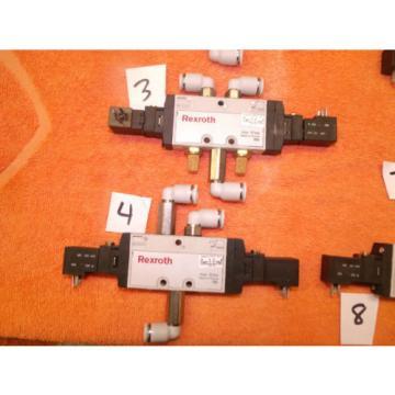 REXROTH PNEUMATIC CONTROL VALVE DIRECTIONAL choose of 8, 0820 061 001