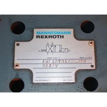 Rexroth 4WE10Y31/CG24N9K4/V Solenoid Valve Origin