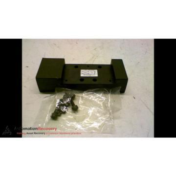 REXROTH 261-109-0600 VALVE BLANKING PLATE, Origin #169571
