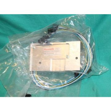 Bosch Rexroth R 412 005 899 Pneumatic Valve manifold 6 port block hamac Origin