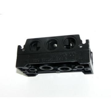 REXROTH BOSCH ISO 5599/1 MAINTENANCE PLATE MODULAR VALVE COD: 110200 SIZE 2