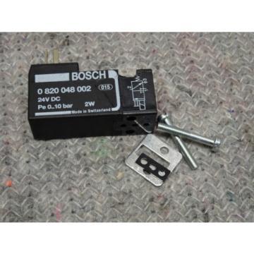 BOSCH REXROTH 0820048002 PNEUMATIC PILOT VALVE DO16-3/2NC-IS15-024DC-MOI 1/8 24V