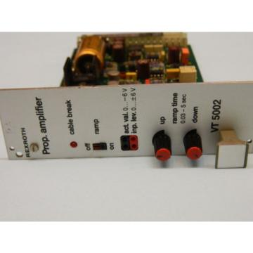 Rexroth VT-5002S22 R5 Valve Amplifier Card