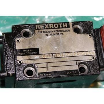 Rexroth 4WE6Y51/AG24N9Z45 Hydraulic Valve Origin